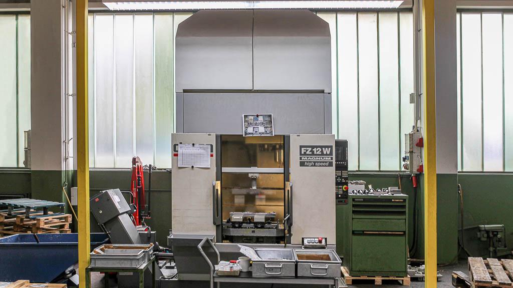 Chiron FZ 12W MAGNUM - Maschinenpark Kattner GmbH Metall Drehen Fräsen Montagearbeiten Esslingen
