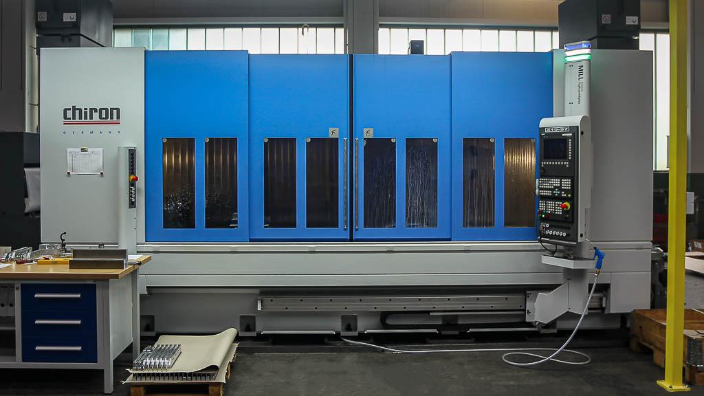 Chiron MILL | Maschinenpark Firma Kattner GmbH | Metall-Drehen und Fräsen, Montagearbeiten in Esslingen