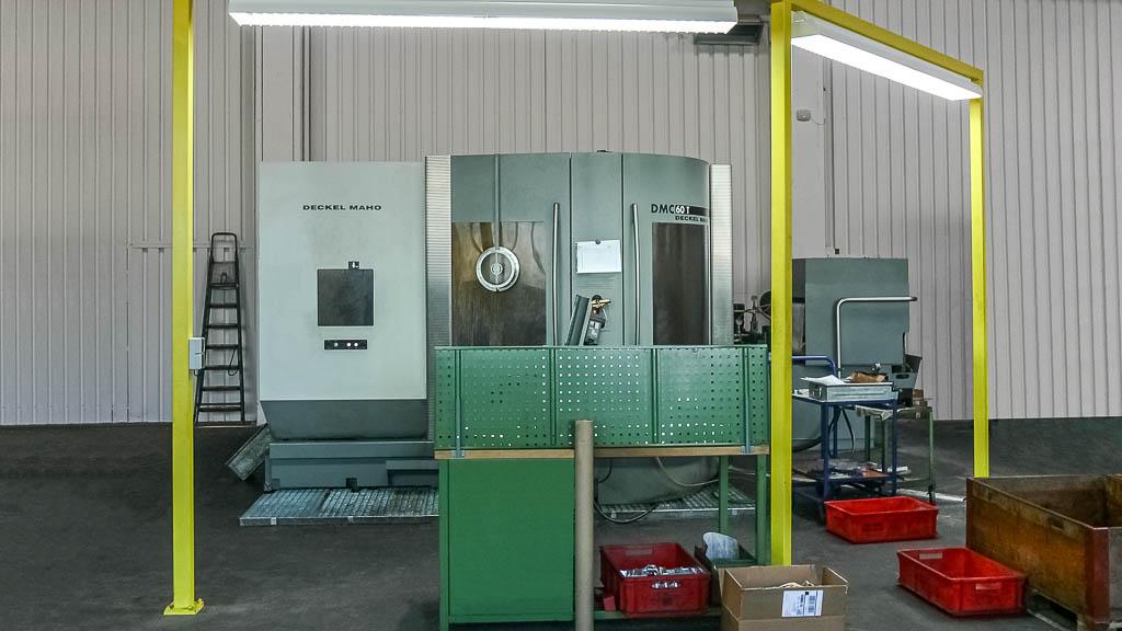 Deckel Maho DMC 60 T | Maschinenpark Kattner GmbH Metall - Drehen - Fräsen - Montagearbeiten in Esslingen